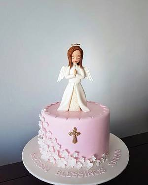 Baptising  - Cake by Couture cakes by Olga