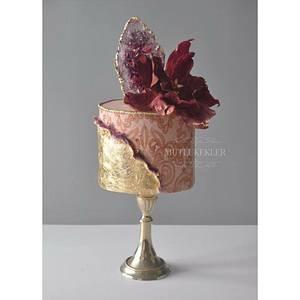 My Mutli technic sharp adge cake class cake - Cake by Caking with love