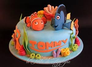Finding Nemo Cake - Cake by Le Torte di Applepie