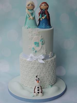 Frozen - Cake by Shereen
