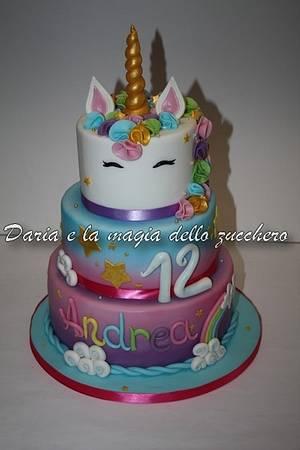Unicorn cake - Cake by Daria Albanese