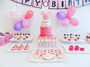 Alisha's 1st Birthday - Cake by Sweet Side of Cakes by Khamphet