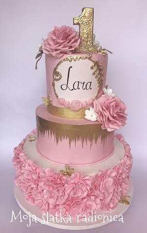 Cake for little princess  - Cake by Branka Vukcevic