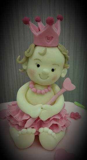 Princess for the Day - Cake by Debi at Daisy's Delights