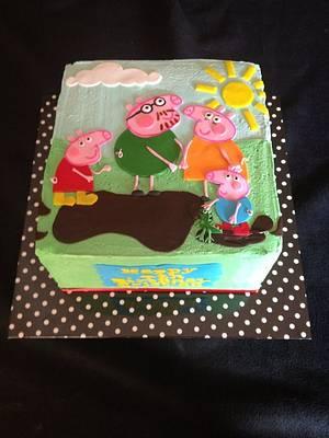 SMBC Peppa Pig - Cake by Trickycakes