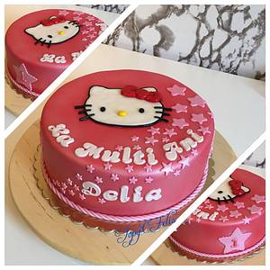 Hello Kitty  - Cake by Felis Toporascu