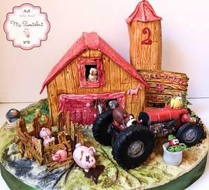Farm Cake - Cake by My Sweet Art