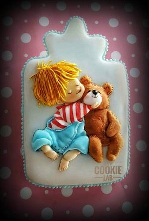 My first Teddy Bear! - Cake by The Cookie Lab  by Marta Torres