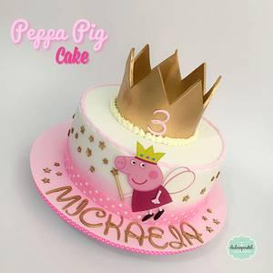 Torta Peppa Medellín - Cake by Dulcepastel.com