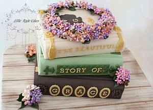 The magic world of books ~ cake  - Cake by Little Apple Cakes