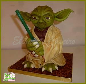 Yoda cake - Cake by Bety'Sugarland by Elisabete Caseiro