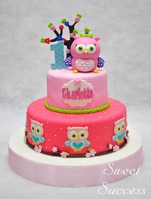 Owl Cake - Cake by Sweet Success