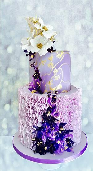 Isomalt corals - Cake by Delice