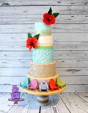 2015 ICING SMILES Calendar Cake for month of JUNE - Cake by Violet - The Violet Cake Shop™