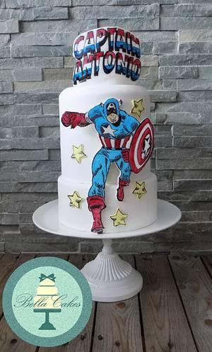 captain antonio - Cake by Bella Cakes