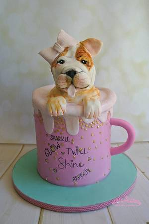 Lucy Loo - Cake by Sumaiya Omar - The Cake Duchess