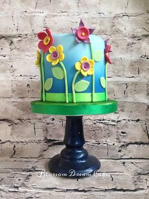 Evie's 5th - Cake by Blossom Dream Cakes - Angela Morris