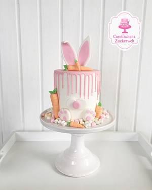 🐰💕 Bunny - Dripcake 💕🐰 - Cake by Carolinchens Zuckerwelt
