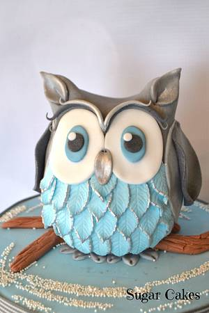 Little Owl - Cake by Sugar Cakes