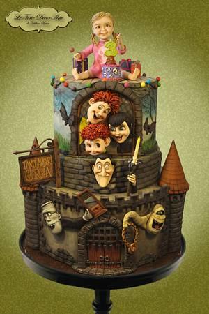 Transylvanian Birthday Party - Cake by Adelina Baicu Cake Artist