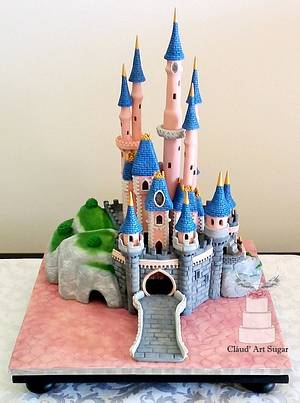Sleeping Beauty Castle Cake - Cake by Cláud' Art Sugar