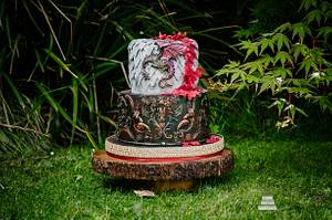 Game of Thrones wedding cake - Cake by Kathryn