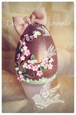 Sweet Easter egg - Cake by Dolce come una caramella