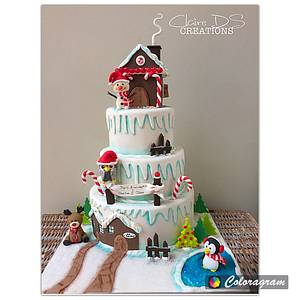 Christmas cake for children - Cake by Claire DS CREATIONS