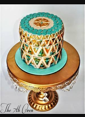 Geometric pattern - Cake by Prabjoth