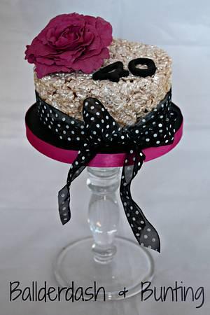 Crispie cake! - Cake by Ballderdash & Bunting