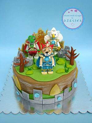 Lego chima cake - Cake by Dzesikine figurice i torte