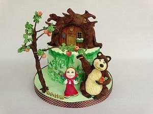 Masha and the Bear - Cake by Diana