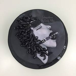 Ball Gag Girl  - Cake by Cakeapalooza