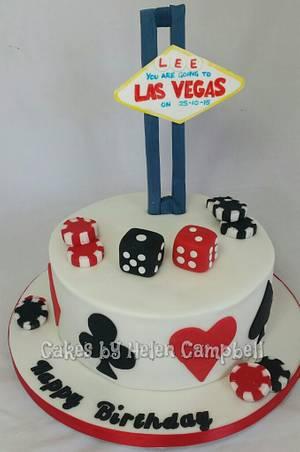 Vegas Cake - Cake by Helen Campbell