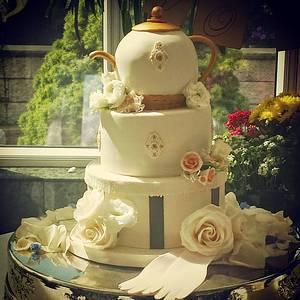 Bridal Shower Tea Themed Cake - Cake by Tomyka