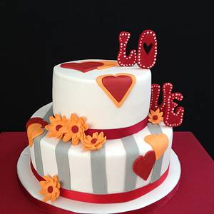 All you need is love - Cake by Luisa