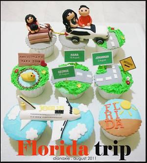 Florida Trip - Cake by Diana