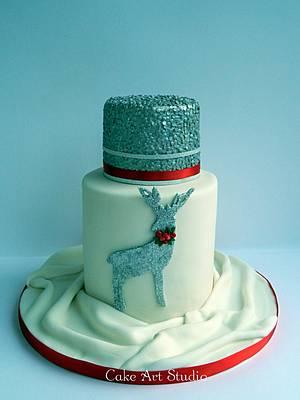 In a winter mood - Cake by Cake Art Studio