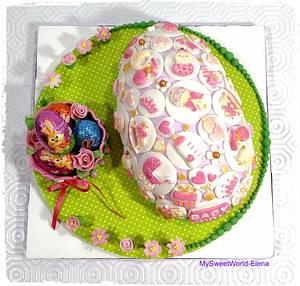 Easter BabyGirl Egg - Cake by My Sweet World_Elena