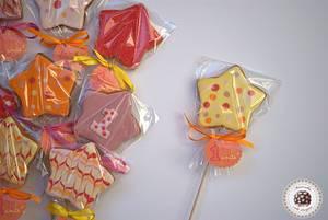 Wand cookies to Pénelope - Cake by Mericakes
