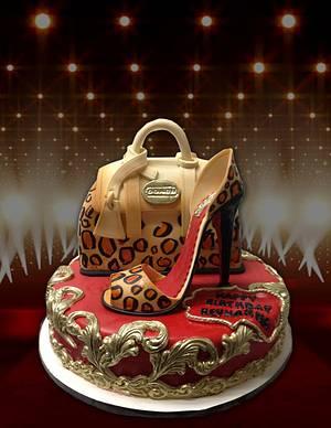 Coach Handbag & High Heel Cake - Cake by MsTreatz