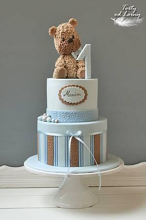 Teddy bear.. - Cake by Lorna