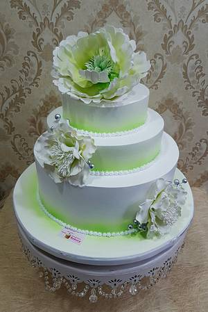 Summer Love  - Cake by Michelle's Sweet Temptation
