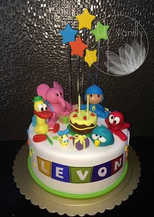 Happy Birthday Pocoyo! - Cake by Lily Vanilly