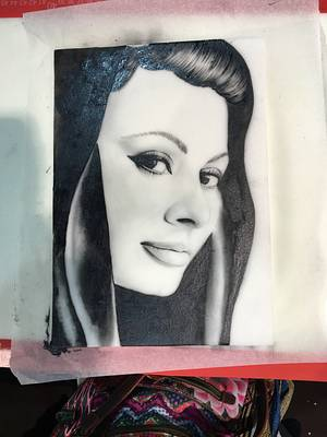 Sophia Loren - Cake by Cristina Pontarolo