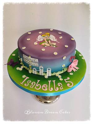 Tinkerbell - Cake by Blossom Dream Cakes - Angela Morris