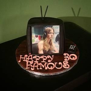 TV celebrity - Cake by nef_cake_deco
