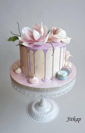 Drip cake - Cake by Jitkap