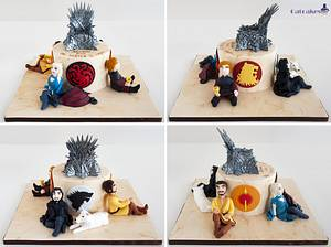 Game of Thrones cake - Cake by Catcakes