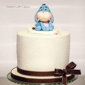 Baby Eeyore Birthday Cake - Cake by Heidi